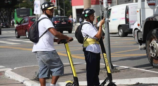 Prefeitura e empresas de patinetes tem debatido regulamentação