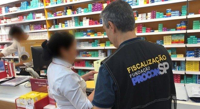 Desde março, órgão visitou mais de 4 mil farmácias e supermercados em São Paulo