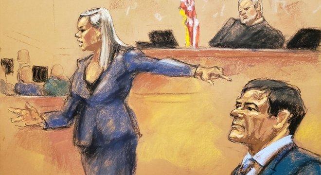 Joaquín 'El Chapo' Guzmán foi considerado culpado de todos os dez crimes pelos quais foi acusado