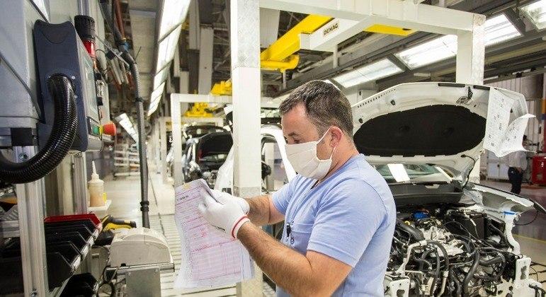 Segundo dados da Anfavea, foi o julho mais baixo na produção de veículos em 18 ano
