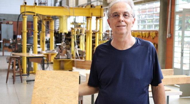 Pesquisadores da USP dão novo uso a restos de madeira