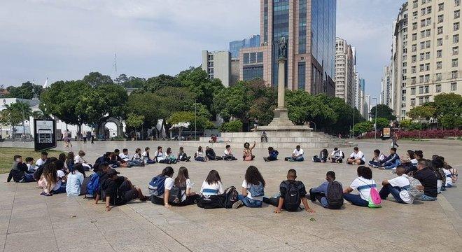 Pedro Bárbara diz que suas aulas, que costumavam ser em espaços abertos, estão mais 'tecnicistas'