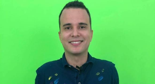 """Autor desta aula, Leandro Leal é dono do canal no YouTube """"Não perca a cabeça"""""""
