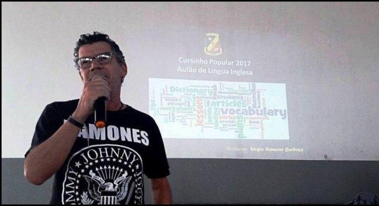 Sérgio Barbosa largou a vida no comércio para ser professor da rede pública em Pernambuco