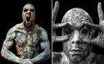 Um professor com 99% do corpo tatuado foi impedido de lecionar ao jardim de infância, em uma instituição de ensino do departamento francês deEssonne