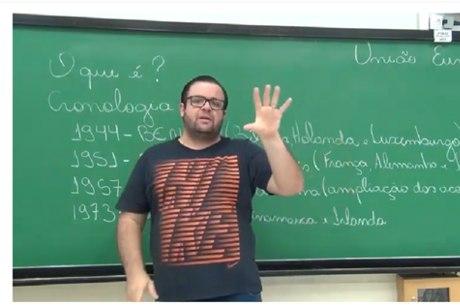 Thiago Hernandes apresenta a primeira videoaula
