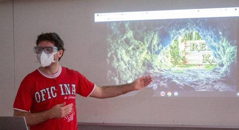 Vitor Caetano desenvolveu gamificação para ensinar matemática para alunos do fundamental 2