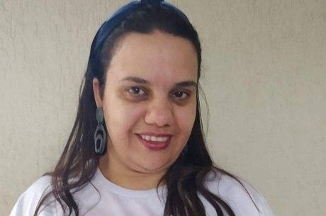 Professora Adriana Ezequiel e o jogos