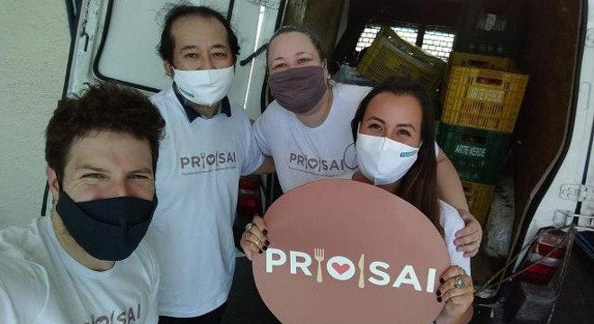 PROSAI iniciou ações com entrega de doações ao Grupo Vida, de Barueri