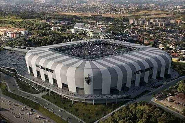 Projeção de como o estádio ficará