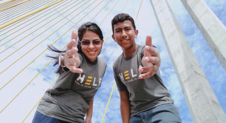 Voluntários do Projeto Help atuam para ajudar pessoas que pensam em desistir da vida