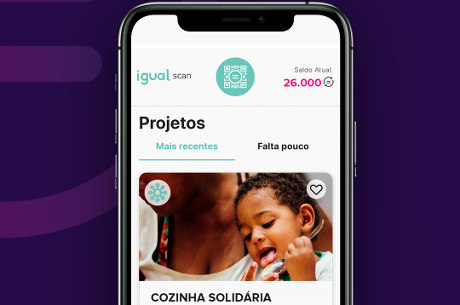 Consumidores podem ajudar causas sociais por meio do app