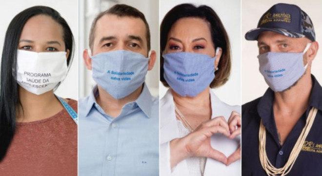 Projeto confecciona e distribui gratuitamente máscaras de tecido para conter a covid-19
