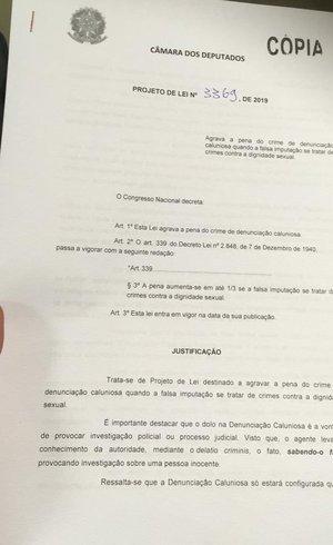 Projeto da lei Neymar da Penha