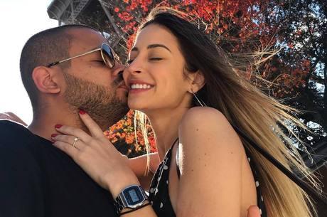 Casal reatou relacionamento em julho de 2018