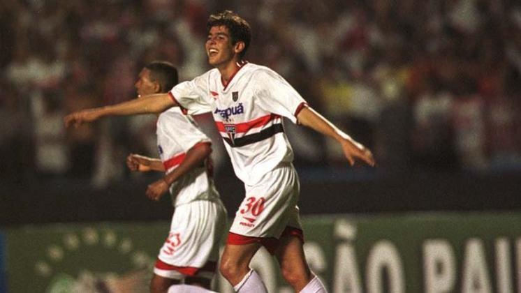 Kaká: uma das principais revelações do São Paulo na última década, Kaká 'apareceu' para o país na Copinha de 2001, quando o Tricolor foi vice-campeão