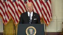 Joe Biden diz que retirar as tropas do Afeganistão foi a decisão correta