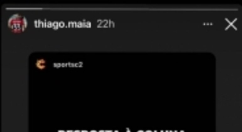 Pronunciamento Thiago Maia