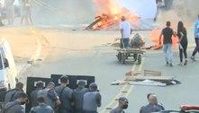 Após chacina, ônibus é incendiado na zona sul de São Paulo