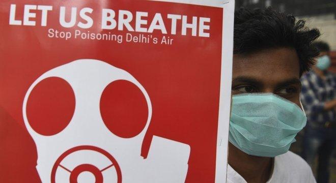 Qualidade do ar em Nova Déli se deteriorou muito nos últimos anos