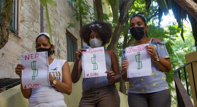 Organizadores estimam que 5 mil cubanos iriam comparecer aos protestos do dia 15 de novembro