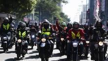 SP: motoboys protestam contra ciclofaixas na avenida Rebouças