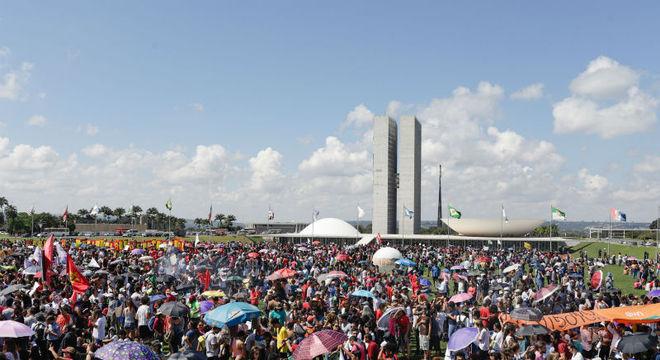 Protesto reuniu manifestantes em todas as capitais brasileiras