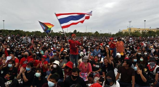 A manifestação pacífica continuará até o domingo (20)