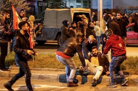 Protesto em Beirute deixa 70 feridos