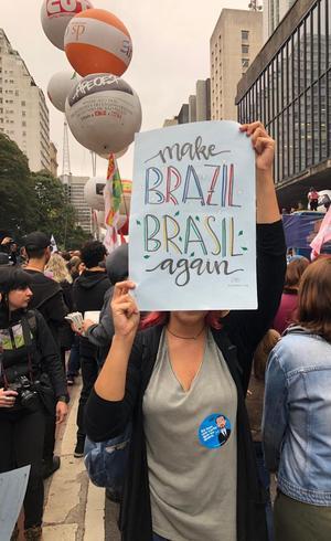 Protesto estudantil em São Paulo