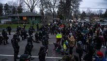 Manifestantes protestam após morte de homem negro nos EUA