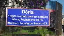 Fechamento de pronto socorro de 6 hospitais de SP gera protestos