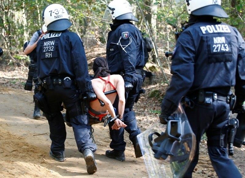 Polícia alemã prende ativistas que viviam em floresta para protegê-la