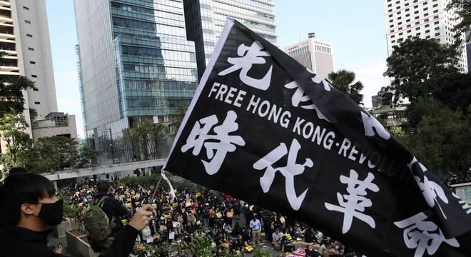 Protestos contra lei de extradição da China marcaram ano de 2019 em Hong Kong