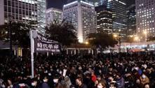Adolescente é condenado em Hong Kong por participação em protesto