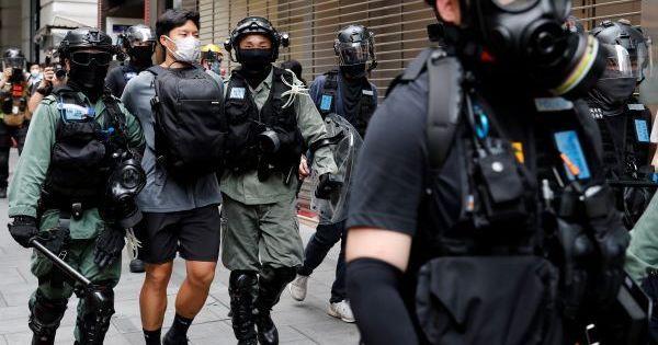 Hong Kong bans annual pro-democracy demonstration