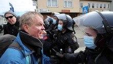 Polícia entra em confronto com manifestantes na Alemanha