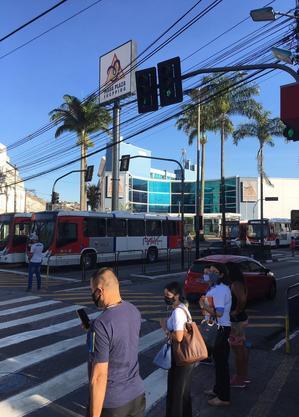Ônibus não saíram dos terminais no ABC Paulista em protesto da categoria