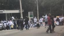 Moradores de Paraisópolis fazem protesto contra violência policial