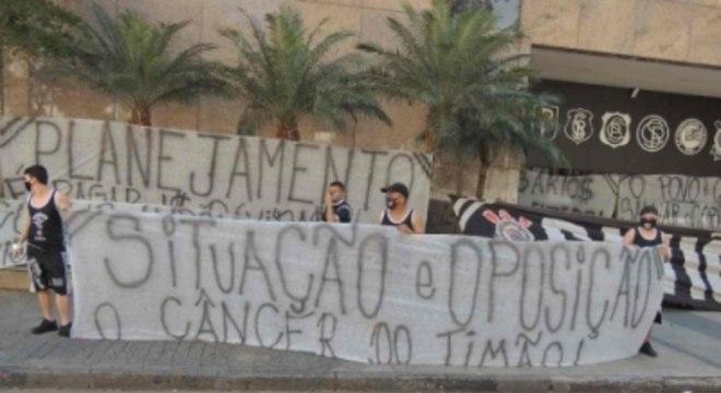 Protesto - Parque São Jorge