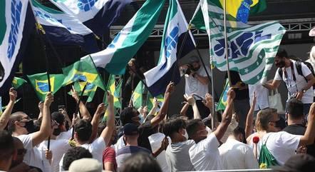 Na imagem, ato na avenida Paulista (SP)