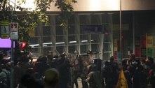 Oito agentes do Metrô e um PM ficam feridos em protesto em SP
