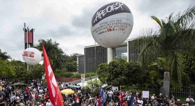 Protesto ocorrerá nesta terça (3), às 14h, em frente à Alesp
