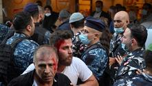 Beirute: protesto pelas vítimas da explosão deixa vários feridos