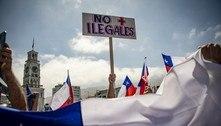 'Fora ilegais!': milhares protestam contra imigrantes no Chile