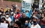 Os violentos protestos começaram no último dia 28 de abril e até agora, de acordo com a Defensoria Pública, causaram 19 mortes, uma cifra que organizações sociais elevam para 31, atribuídas em sua maioria à violência policial, principalmente em Cali, terceira maior cidade do país