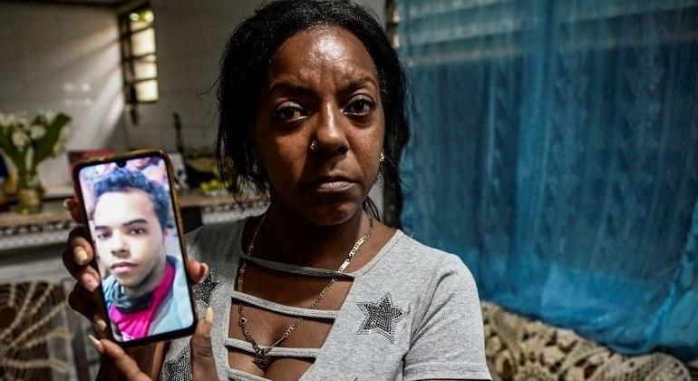 Mayda Yudith Sotolongo foi presa por buscar informações de seu filho, Yunior Consuegra