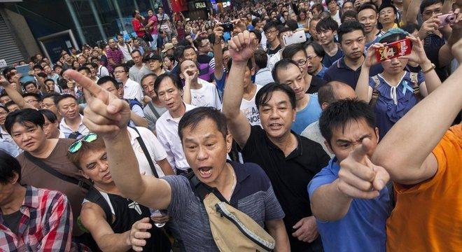 Protestos em 2014 duraram várias semanas