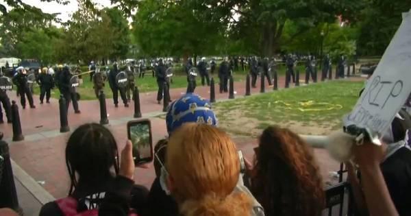 EUA têm ato em frente à Casa Branca contra morte de Floyd