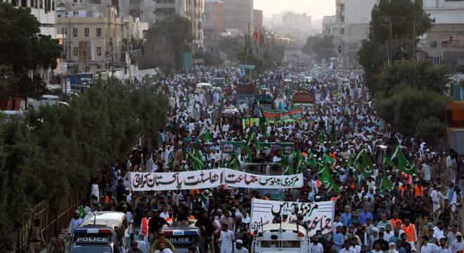 Protestos aconteceram no Afeganistão, Paquistão e Bangladesh